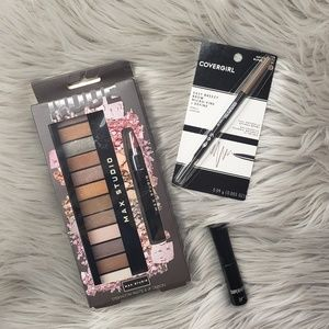 Makeup Bundle - Mascara, Eye Shadow & Brow Pencil